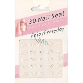 Nail Accessory 3D nálepky na nehty 10100 L13 1 aršík