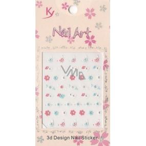 Nail Accessory 3D nálepky na nehty 10100 KYA10 1 aršík
