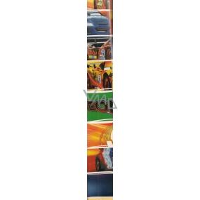 Disney Cars Auta Balicí papír Modro-žluto-zeleno-červený 70 x 200 cm