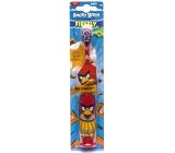 Angry Birds Turbo měkký elektrický kartáček na zuby pro děti