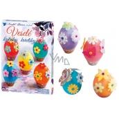 Dekorování vajíček Veselé kytičky sada