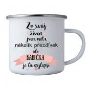 Bohemia Gifts Plecháček s potiskem pro babičku 8 cm
