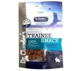 Dr. Clauders Trainee Snack Rabbit sušené králičí kostičky doplňkové krmivo 100% masa pro psy 80 g
