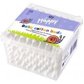 Bella Happy Baby 100% přírodní bavlna vatové tyčinky 56 kusů
