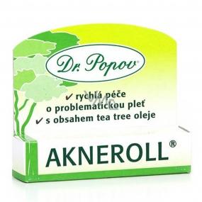 Dr. Popov Akneroll pomocníkpři ošetření akné a dalších kožních potíží 6 ml