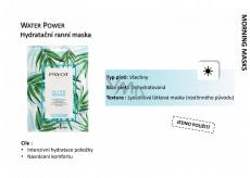 Payot Morning Water Power Masque Hydratační výživná látková maska 15 kusů x 19 ml