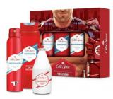 Old Spice White Water Trio deodorant sprej 150 ml + 2v1 sprchový gel na tělo a vlasy 250 ml + voda po holení 100 ml, kosmetická sada pro muže