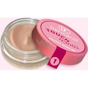 Dermacol Touch Touch Mousse pěnový make-up odstín 01 15 g
