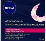 Nivea Visage Aqua Effect výživný regenerační noční krém 50 ml