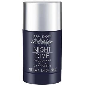 Davidoff Cool Water Night Dive deodorant stick pro muže 70 g