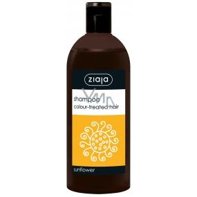 Ziaja Sunflower s výtažkem ze slunečnice šampon pro barvené vlasy 500 ml