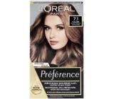 Loreal Paris Préférence barva na vlasy 7.1 Iceland Blond popelavá