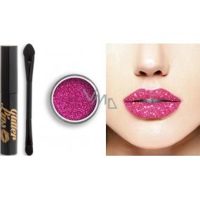 Glitter Lips dlouhotrvající lesk na rty se třpytkami Sparkling Rosé 3,5 ml