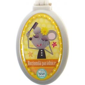 Nekupto Miss Cool hřeben se zrcátkem 002 Myška Roztomilá parádnice