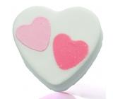 Bomb Cosmetics Srdce k srdci - Heart 2 Heart Šumivý balistik do koupele 100 g