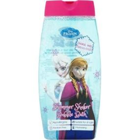 Disney Frozen Shimmer Shaker pěna do koupele s glitry 400 ml