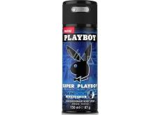 Playboy Super Playboy for Him SkinTouch deodorant sprej pro muže 150 ml