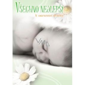 Ditipo Hrací a svítící přání Všechno nejlepší k narození dítěte melodie, světelné efekty