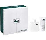 Lacoste Eau de Lacoste L.12.12 Blanc toaletní voda pro muže 175 ml + sprchový gel 150 ml, dárková sada