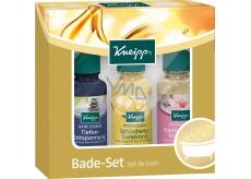 Kneipp Tajemství krásy olej do koupele 20 ml + Mandlové květy 20 ml + Klidná mysl 20 ml, kosmetická sada