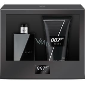James Bond 007 Seven toaletní voda pro muže 50 ml + sprchový gel 150 ml, dárková sada