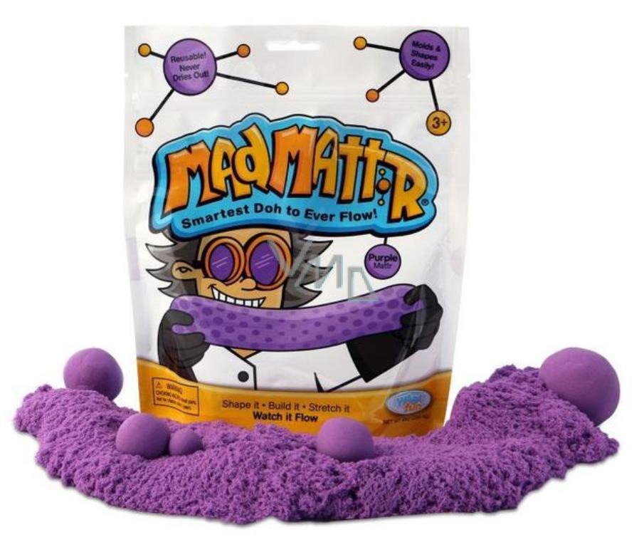 Mad Mattr Kinetický písek modelovací fialový 283 g