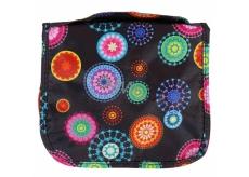 Albi Original Cestovní závěsná kosmetická taška Arabesky 24 x 19 x 3 cm