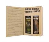 Bohemia Gifts & Cosmetics Pro myslivce sprchový gel 200 mk + šampon na vlasy 200 ml kniha kosmetická sada kniha