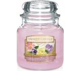 Yankee Candle Floral Candy - Dortík s květy vonná svíčka Classic střední sklo 411 g