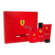 Ferrari Scuderia Ferrari Red toaletní voda pro muže 125 ml + sprchový gel 150 ml + deodorant sprej 150 ml, dárková sada