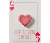 Bomb Cosmetics Queen to My Heart Šumivé přání s balistikem 40 g