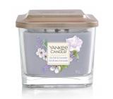 Yankee Candle Sea Salt & Lavender - Mořská sůl a levandule sojová vonná svíčka Elevation střední sklo 3 knoty 347 g