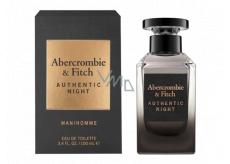 Abercrombie & Fitch Authentic Night Man toaletní voda pro muže 100 ml