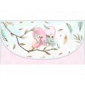 Nekupto Přání obálka na peníze Ptáčci 116 x 220 mm