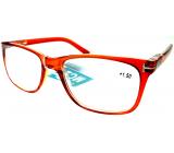 Berkeley Čtecí dioptrické brýle +1,5 plast červené 1 kus MC2194