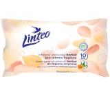 Linteo Herbal vlhčené ubrousky pro intimní hygienu 10 kusů