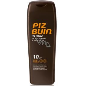 Piz Buin Moisturising OF10 opalovací mléko 200 ml
