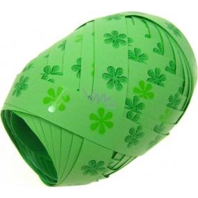 Nekupto Klubíčko Luxus zelená s kytičkou 167 50 KB 10 m