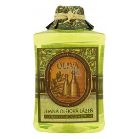 Bohemia Natur Oliva+citrusy lázeň s olivovým a hroznovým olejem a extraktem z citrusů 300 ml