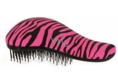 Dtangler Detangling Brush Kartáč pro snadné rozčesání vlasů 18,5 růžovo-černý