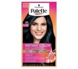 Schwarzkopf Palette Instant Color postupně smývatelná barva na vlasy 20 Modročerný 25 ml