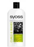 Syoss Curls & Waves kondicionér pro husté, hrubé nebo kudrnaté vlasy 500 ml