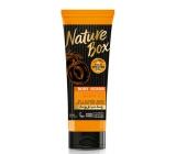 Nature Box Meruňka Vitamínový antioxidant tělový peeling se 100% za studena lisovaným olejem, vhodné pro vegany 200 ml