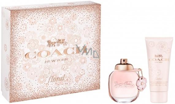 Coach Floral Eau de Parfum perfumed water for women 50 ml + body ... 7f19d9ce87