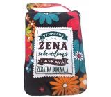 Albi Skládací taška na zip do kabelky s nápisemVýjimečná žena 42 x 41 x 11 cm