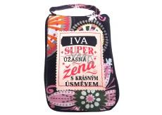 Albi Skládací taška na zip do kabelky se jménem Iva 42 x 41 x 11 cm