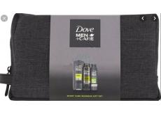 Dove Men + Care Extra Fresh sprchový gel 250 ml + antiperspirant deodorant sprej 150 ml + sprchová pěna 200 ml + etue, kosmetická sada