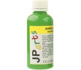 JP arts Barva na textil na světlé materiály, základní odstíny 8. Světle zelená 50 g