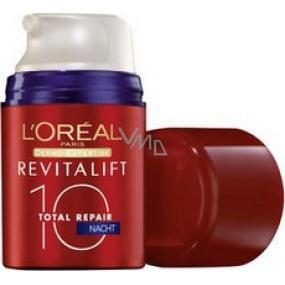 Loreal Paris Revitalift Total Repair 10 noční multi-regeneranční krém 50 ml