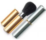 Diva & Nice Kosmetický štětec vysouvací s krytkou stříbrný velký 1 kus